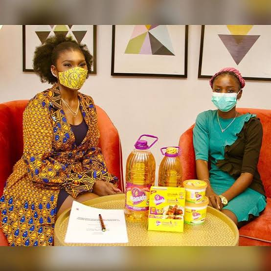 Ufuoma McDermott becomes brand ambassador for mamador cooking oil