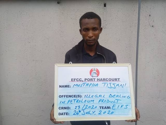 , Court sentence oil thief Tijani to prison in Port Harcourt, Effiezy - Top Nigerian News & Entertainment Website