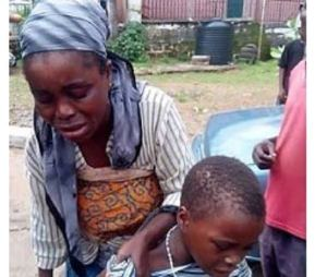 Fake Blind beggar exposed and arrested in Ebonyi