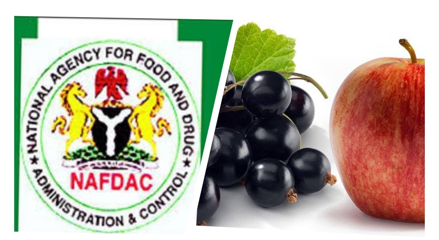 NAFDAC warns Nigerians against apple, blackcurrant from Australia