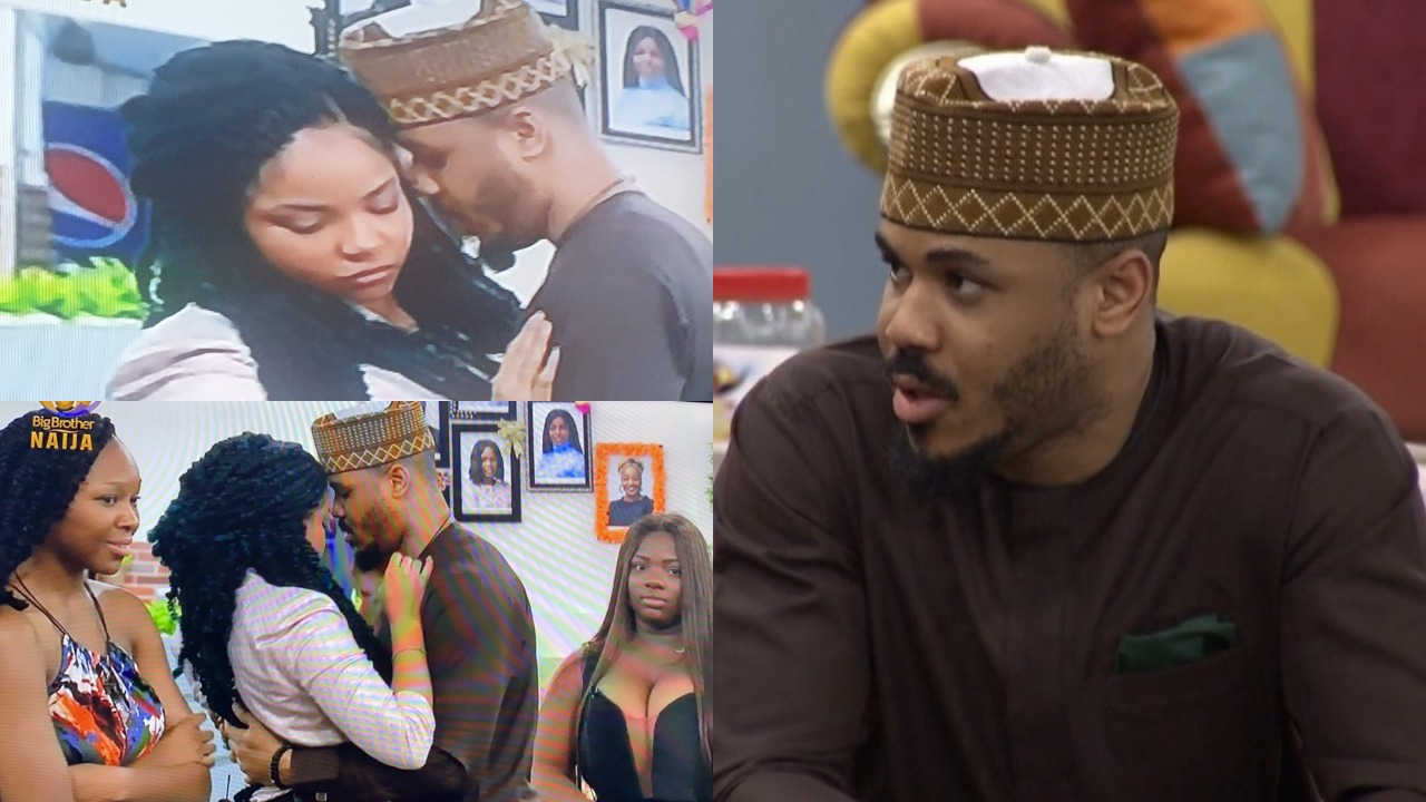 BBNaija 2020 - Ozo finally speaks on why Nengi curved his kiss after eviction (Video)