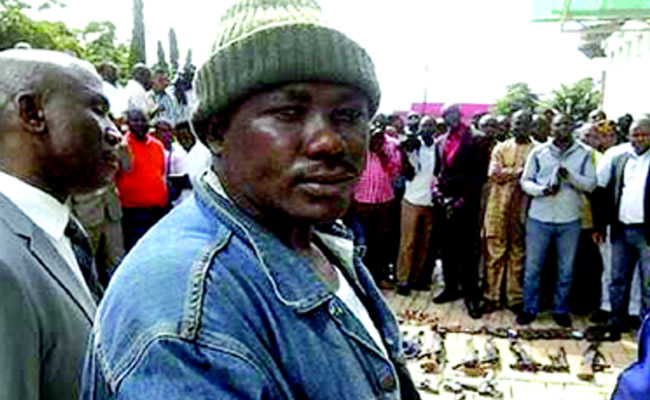 Soldiers kill Benue's 'most wanted criminal' Gana