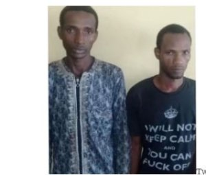 Two herdsmen arrested for robbing family and defiling their 16-year-old daughter (Photo)