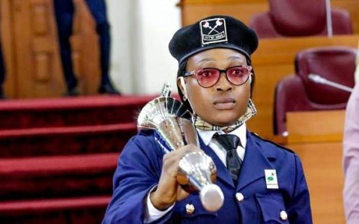 Olorogun breaks 41-year-old jinx, becomes first Lagos Assembly female mace bearer