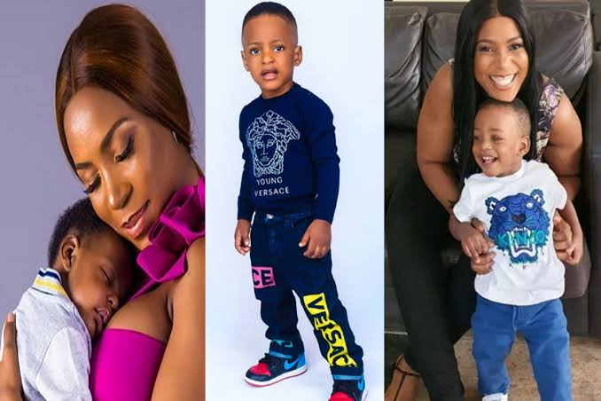 Linda Ikeji marks son Jayce's birthday with beautiful photos
