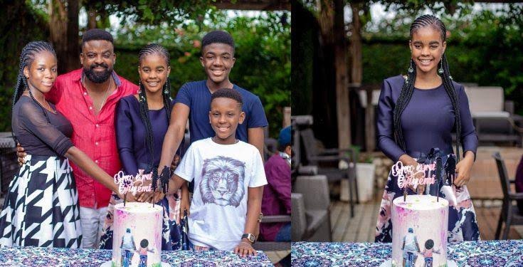 Kunle Afolayan celebrates daughter as she turns 15