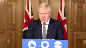 """""""Stay at Home,' PM Boris Johnson declares as England Prepares for Four-week Lockdown"""