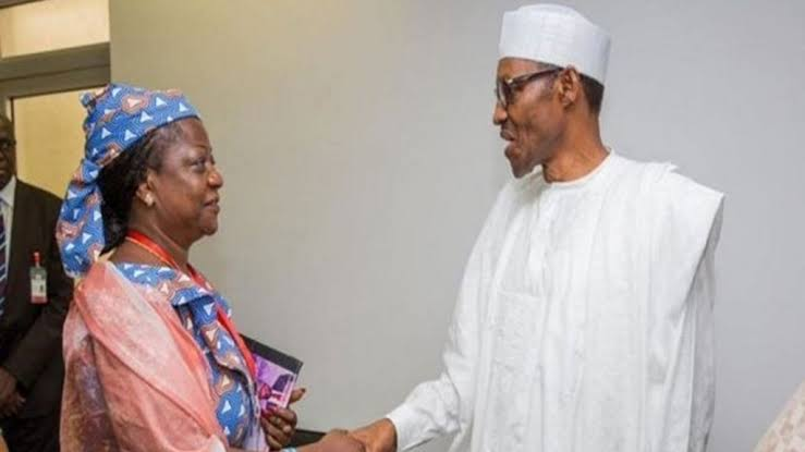 Buhari appoints Special assistant on social media, Lauretta Onochie as INEC Commissioners