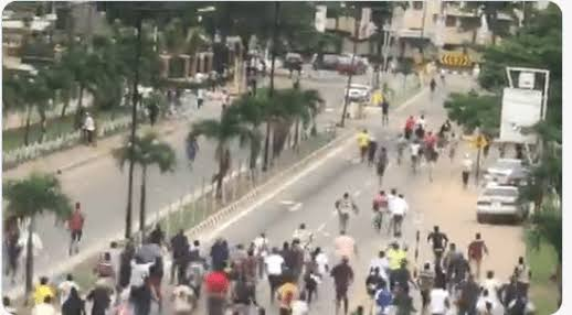 Thugs attack #EndSARS protesters in Osun