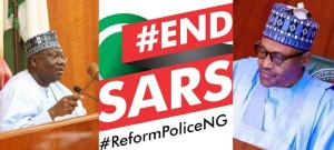 #EndDSARS: After meeting Buhari, NASS leaders beg youths to end protests
