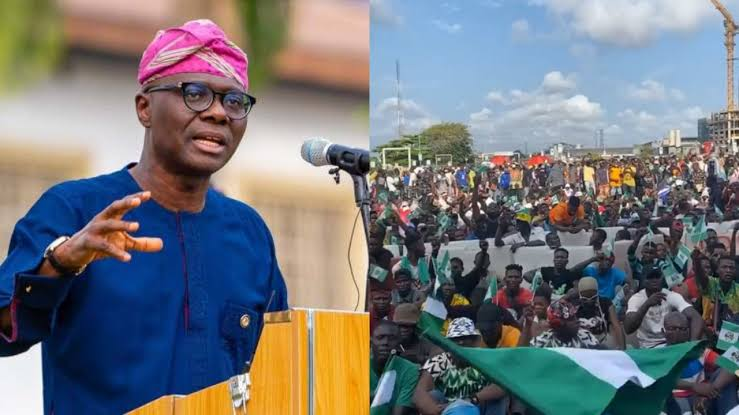 Mob burns down Sanwo-Olu's family home on Lagos Island
