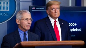 Fauci says Trump campaign ad twists his words on COVID-19
