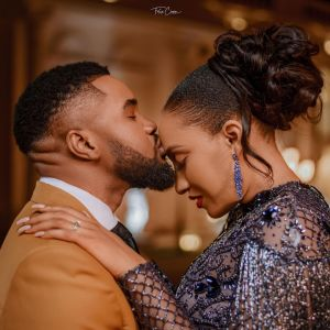 Check out stunning pre-wedding photos of Williams Uchemba and his wife-to-be