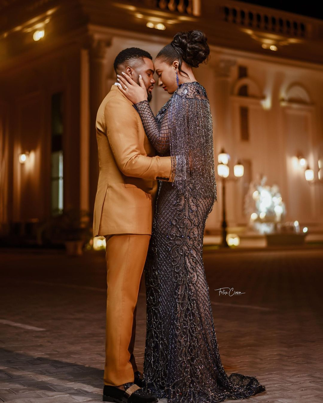 Check Out Stunning Pre-Wedding Pictures Of Williams Uchemba And His Wife To Be