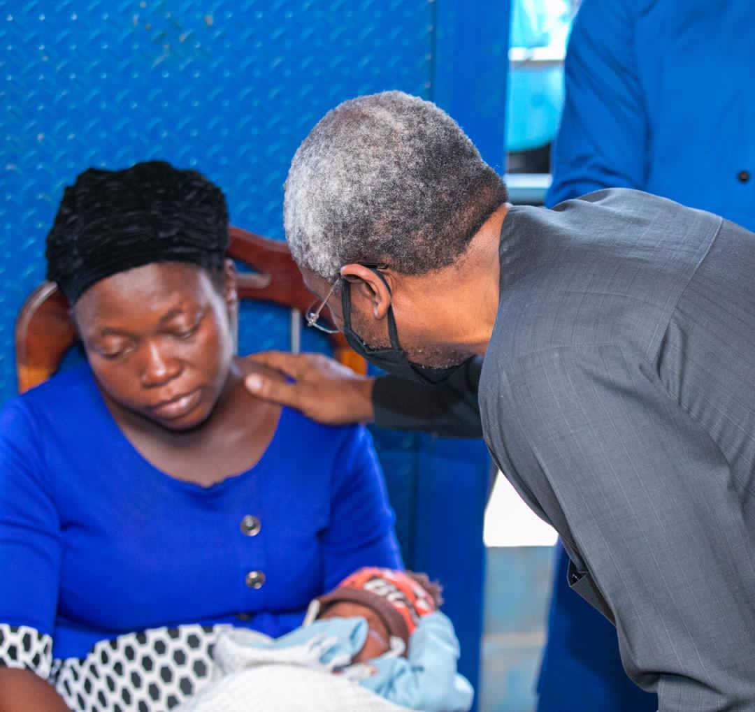 Gbajabiamila Visits Family Of Vendor Shot By His Security Aide