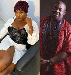 Nazo Ekezie shoots her shot at Don Jazzy