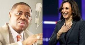Twitter user blast Fani-Kayode for labelling Kamala, 'Jezebel'