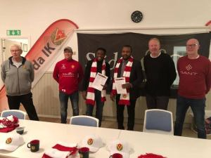 Ex-super eagles player, Peter Ijeh becomes Swedish club manager