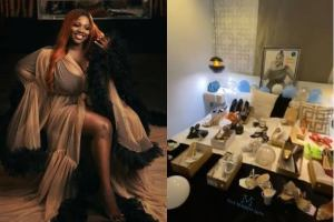 Dorathy Fans surprised her with 25 pair of shoes on her birthday