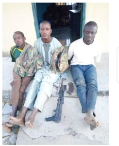 Police, Army, DSS arrested kidnappers with military uniforms in Plateau state