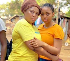 Regina Daniels mother reveals her real source of income, Yam farming (Video)