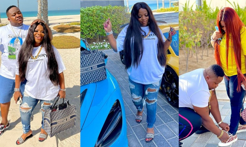 , Cubana Chief Priest celebrates wife's birthday with heart warming note, Effiezy - Top Nigerian News & Entertainment Website