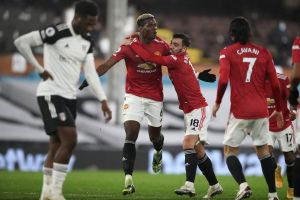 """Fulham Vs Manchester United (1 – 2): Paul Pogba fires """"the Red Devils"""" to the top"""