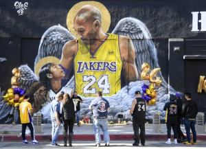 Kobe Bryant fans remember him one year after his death