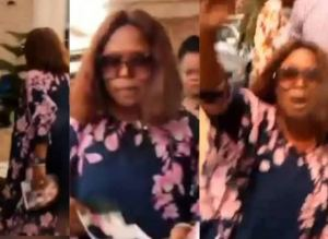 Drama as Nigerian woman storms husband's secret wedding ceremony to another woman in Abia (video)