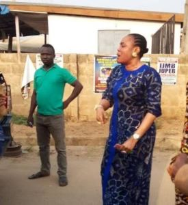 Woman arrested for allegedly slapping Oyo state traffic management official