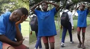 Homeless 13-year-old orphan cries out for help, says he wants to go to school
