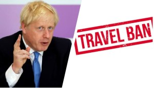 It is illegal to travel for leisure purpose says Boris Johnson as he imposes travel ban on 30 countries, exempts Nigeria in UK