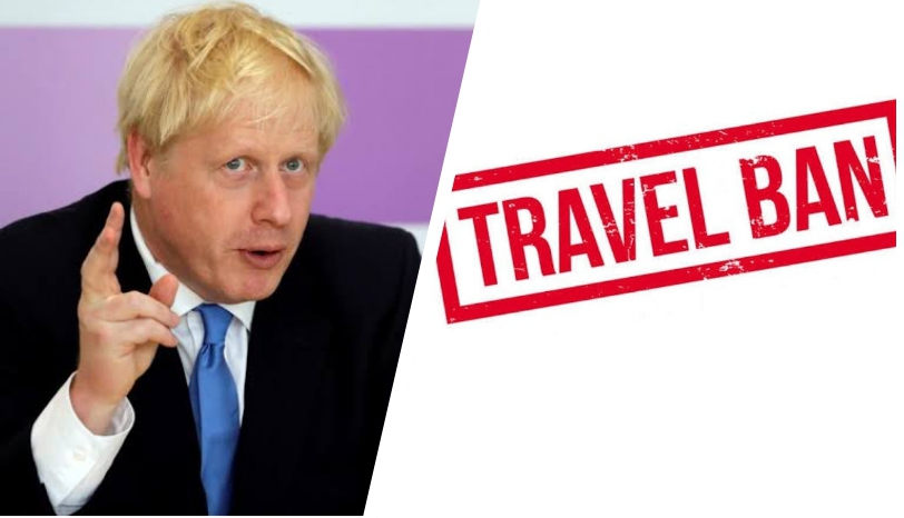 , It is illegal to travel for leisure purpose says Boris Johnson as he imposes travel ban on 30 countries, exempts Nigeria in UK, Effiezy - Top Nigerian News & Entertainment Website