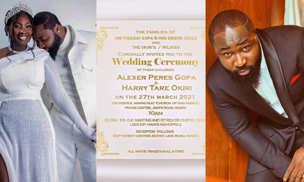 Singer, Harrysong set to tie the knot with his fiancée, Alexer Gopa (Photo)