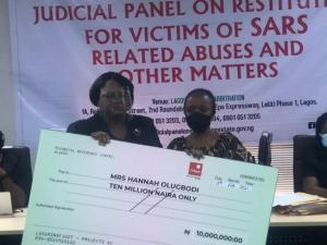 Lagos judicial panel issues compensation to victims of Police brutality (Photo)