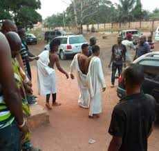 Three young men allegedly caught attempting to use girl for money ritual in Edo