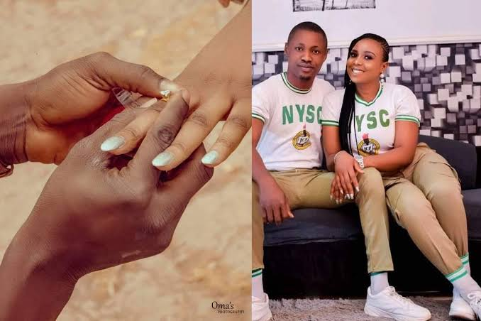 , NYSC gave me my wife, man engages his fellow corps female member on their passing out day., Effiezy - Top Nigerian News & Entertainment Website
