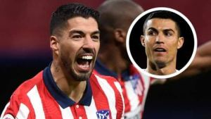 Luis Suarez breaks Ronaldo's record as Atlético Madrid go eight points clear