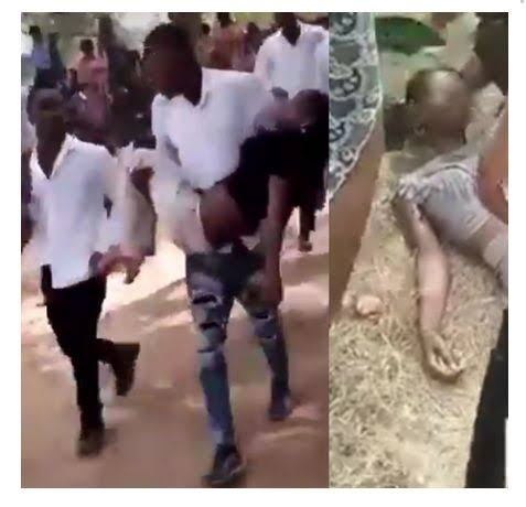 , Commotion in university as students slump during exam in an overcrowded hall in EBSU (video + photo), Effiezy - Top Nigerian News & Entertainment Website