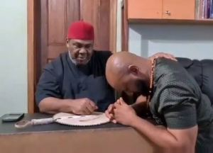 , Veteran actor Pete Edochie endorses son for 2023 presidency (video), Effiezy - Top Nigerian News & Entertainment Website