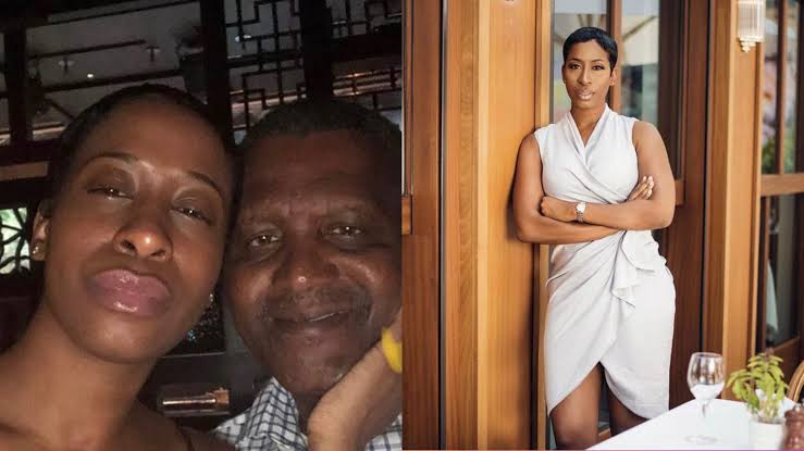 Dangote's ex-girlfriend evicted from U.S. apartment for owing six months' rent