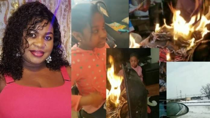 , Nollywood actress, children homeless in US due to cold weather, Effiezy - Top Nigerian News & Entertainment Website