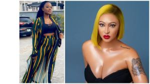 """Are you ashamed to call him your husband?"" – Basket Mouth's wife, Elsie Okpocha question Rosy Meurer"