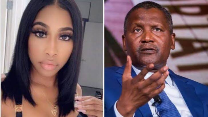 I am not homeless, Dangote has paid the media to tarnish my image – Autumn Spikes