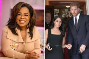 Harry and Meghan secretly stayed at Oprah Winfrey's £80million mansion before buying their Californian home.