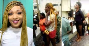 Cameroonian cross dresser sentenced to prison for practicing homosexuality (video)