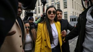 Wife of Mexican drug lord 'El Chapo' arrested at US airport