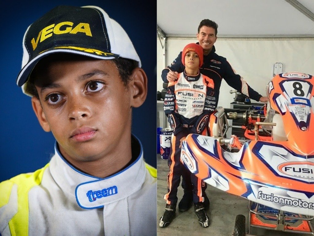 Ugo Ugochukwu, British racing giant, McLaren, signs 13-year-old Nigerian-American Ugo Ugochukwu, Effiezy - Top Nigerian News & Entertainment Website