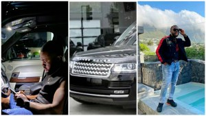 , Actor, Williams Uchemba praises God as he acquires a Range Rover (photo), Effiezy - Top Nigerian News & Entertainment Website
