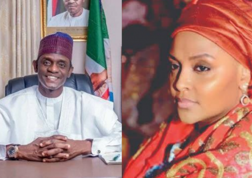 , Yobe state governor marries Abacha's daughter, Effiezy - Top Nigerian News & Entertainment Website
